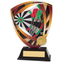 Fortress Darts Acrylic Plaque 175mm