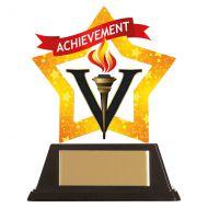 Mini-Star Achievement Acrylic Plaque 100mm : New 2019
