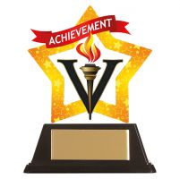 Mini-Star Achievement Acrylic Plaque 100mm : New 2019