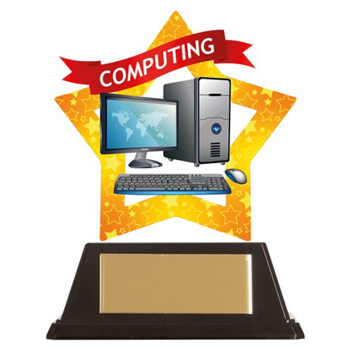 Mini-Star Computing Acrylic Plaque 100mm : New 2019