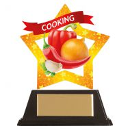 Mini-Star Cooking Acrylic Plaque 100mm : New 2019