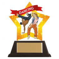 Mini-Star Street Dance Acrylic Plaque 100mm : New 2019