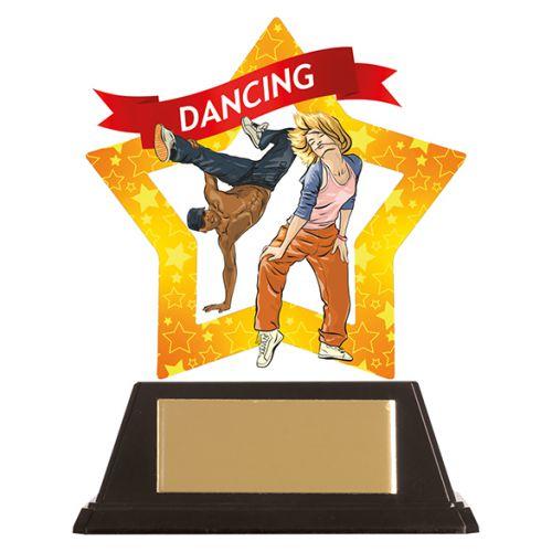 Mini-Star Street Dance Acrylic Plaque 100mm : New 2019