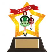 Mini-Star Irish Dance Acrylic Plaque 100mm : New 2019