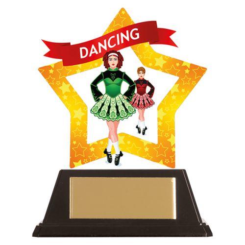 Mini-Star Irish Dance Acrylic Plaque 100mm : New 2019