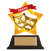 Mini-Star Drama Acrylic Plaque 100mm : New 2019