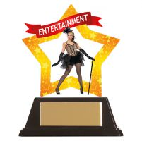 Mini-Star Entertainment Acrylic Plaque 100mm : New 2019