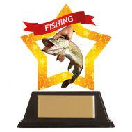 Mini-Star Fishing Acrylic Plaque 100mm : New 2019