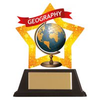 Mini-Star Geography Acrylic Plaque 100mm : New 2019