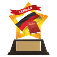 Mini-Star German Acrylic Plaque 100mm : New 2019