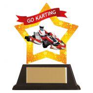 Mini-Star Go-Karting Acrylic Plaque 100mm : New 2019