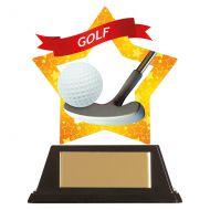 Mini-Star Golf Acrylic Plaque 100mm : New 2019