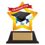 Mini-Star Graduation Acrylic Plaque 100mm : New 2019