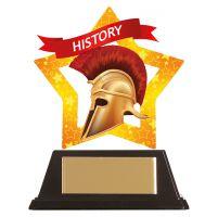 Mini-Star History Acrylic Plaque 100mm : New 2019