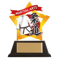 Mini-Star Judo Acrylic Plaque 100mm : New 2019
