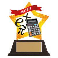 Mini-Star Maths Acrylic Plaque 100mm : New 2019