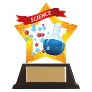 Mini-Star Science Acrylic Plaque 100mm : New 2019