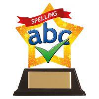 Mini-Star Spelling Acrylic Plaque 100mm : New 2019