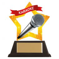 Mini-Star Karaoke Acrylic Plaque 100mm : New 2019