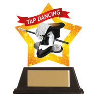 Mini-Star Tap Dancing Acrylic Plaque 100mm : New 2019