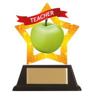 Mini-Star Teacher Acrylic Plaque 100mm : New 2019