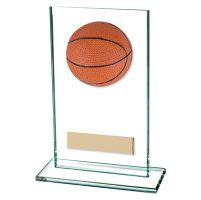 Horizon Jade Glass Basketball Trophy Award 140mm