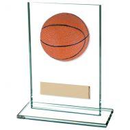Horizon Basketball Jade Glass Trophy Award 125mm : New 2020