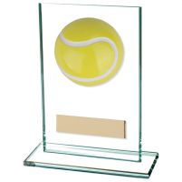 Horizon Tennis Jade Glass Trophy Award 125mm : New 2020