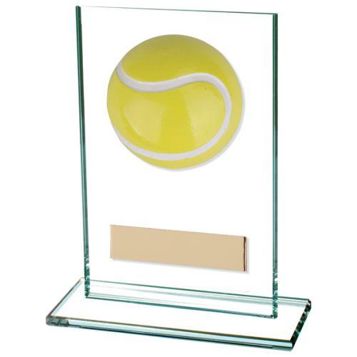 Horizon Tennis Jade Glass Trophy Award 125mm : New 2020