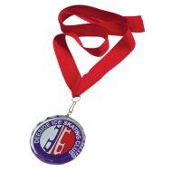 Jade Imperial Glass Medal 70mm