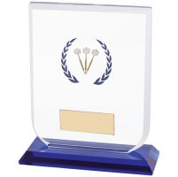 Gladiator Darts Glass Trophy Award 120mm