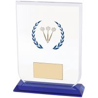 Gladiator Darts Glass Trophy Award 140mm