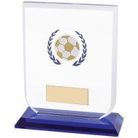 Gladiator Football Trophy Award Glass 120mm