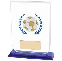 Gladiator Football Trophy Award Glass 160mm