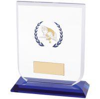 Gladiator Pool / Snooker Glass Trophy Award 120mm