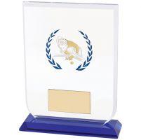 Gladiator Pool / Snooker Glass Trophy Award 140mm