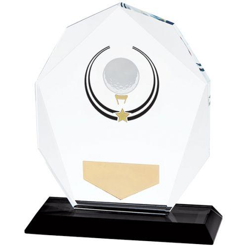 Glacier Golf Glass Trophy Award 120mm