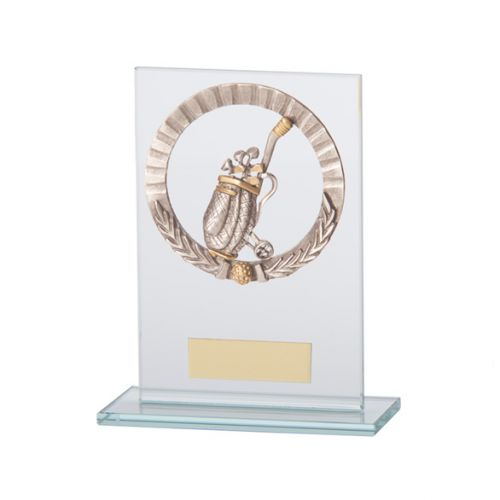 Jade Waterford Golf Trophy Award 140mm