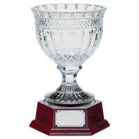 Lindisfarne St Aiden Crystal Vase and Base 295mm