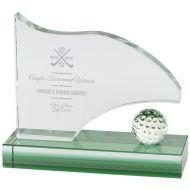 Royal Golf Jade Glass Award 120mm