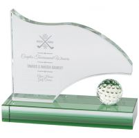 Royal Golf Jade Glass Award 120mm