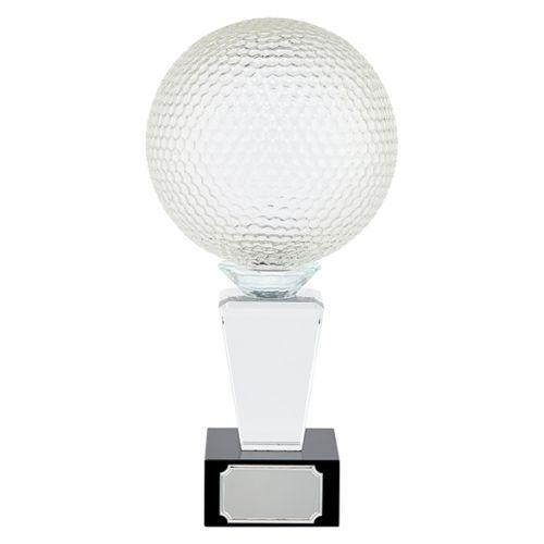 Ultimate Golf Crystal Trophy Award 290mm : New 2019