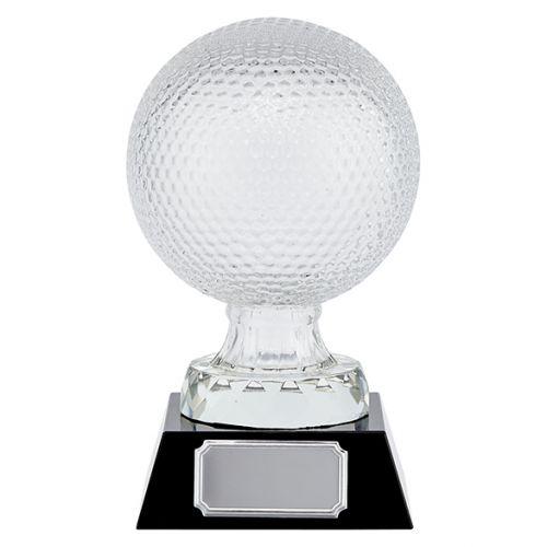 Supreme Golf Crystal Trophy Award 160mm : New 2019