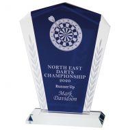 Unity Crystal Trophy Award 230mm : New 2020