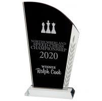 Vigilante Crystal Trophy Award 195mm : New 2020