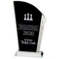 Vigilante Crystal Trophy Award 215mm : New 2020