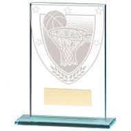 Millennium Basketball Jade Glass Trophy Award 125mm : New 2020