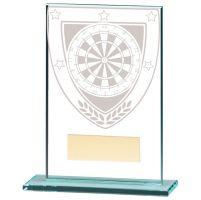 Millennium Darts Jade Glass Trophy Award 125mm : New 2020