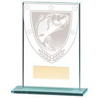 Millennium Fishing Jade Glass Trophy Award 125mm : New 2020