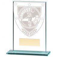 Millennium Longest Drive Jade Trophy Award 125mm : New 2020